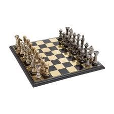 woodland imports 2837 sleek and stylish chess set lowe u0027s canada