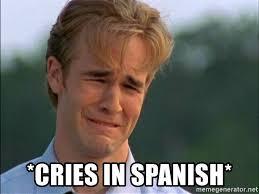 Spanish Meme Generator - cries in spanish dawson crying meme generator
