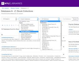 linking to ebooks nyu classes adding library resources