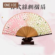 japanese folding fan japanese folding fan wind silk craft gift and