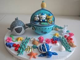 octonauts cake topper fondant octonauts gup a inspired cake topper by likebutter on etsy