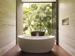 Bathtub Planter Houseplant On Planter Glass Window Panel Corner Bathtub Bench Real
