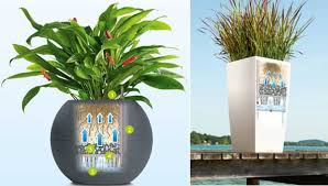 self watering plants grow healthier plants with a complete self watering planter system
