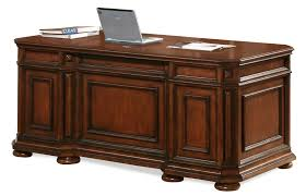 Showcase Fireplace Seekonk by Riverside Furniture Cantata Double Pedestal Executive Desk Ahfa