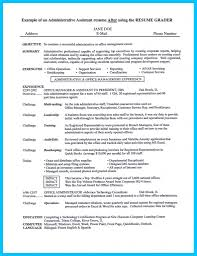 exles of administrative assistant resumes office administrative assistant resume sle professional