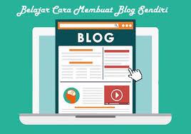 cara membuat blog tulisan belajar cara membuat blog sendiri 2018 terbaru