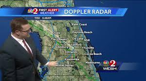 Doppler Radar Map Storms Returning On Thursday