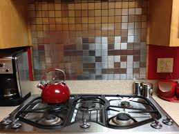 Stainless Kitchen Backsplash Stainless Steel 2