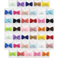 barrettes for hair 40pcs hair coxeer ribbon simple bow claw hair