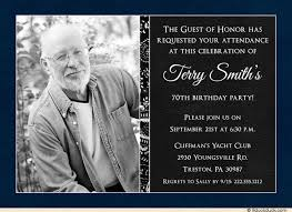 choose the top 70th birthday invitations templates best