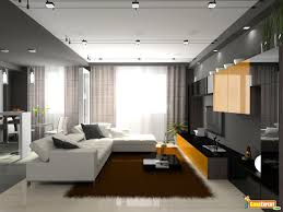 modern lounge lighting living room with a lot of natural pleasing