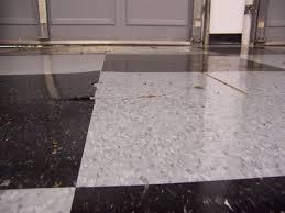 Vinyl Tiles On Concrete Floor Vinyl Composition Tile Vct Failure In Garage The Garage Journal