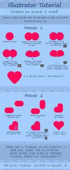 tutorial illustrator italiano disegnare cuore su illustrator ita tutorial by jericam on