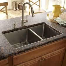 kitchen island construction granite countertop kitchen sink equipment single control faucet