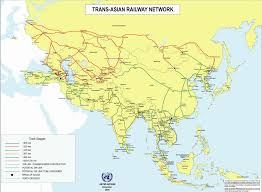India On A Map Railroad Net U2022 View Topic Trans Asia Rail Network