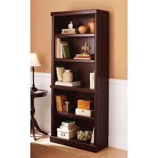 Backless Bookshelf Metal Grid 5 Shelf Open Bookcase Black Walmart Com