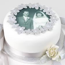 60th wedding anniversary decorations personalised wedding anniversary cake decorating kit by clever