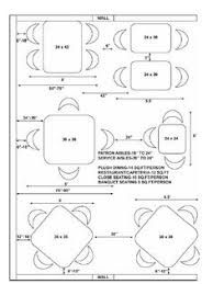 table dimensions booth spacing restaurant design pinterest