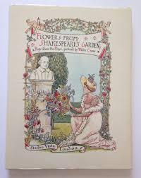 flowers from shakespeare u0027s garden amazon co uk walter crane