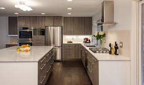 Smart Kitchen Design Nifty Modular Kitchen Design Featuring Oak Wood Cabinet With