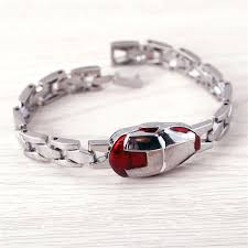 metal men bracelet images J store iron man bracelet superhero bracelets for men metal silver jpg
