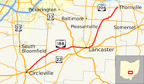 Map Of Lancaster Ohio by Ohio State Route 188 Wikipedia