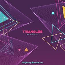 triangle pattern freepik modern geometric background with triangles vector free download