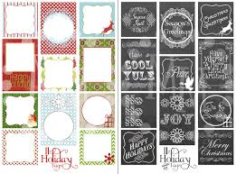 printable christmas tags 2 sets the scrap shoppe