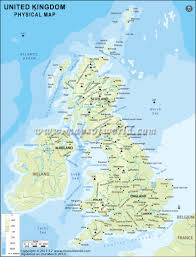Physical Map Of North America by Uk Physical Map Physical Map Of United Kingdom
