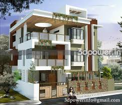 Home Elevation Design Free Download 3d Front Modern Elevation Gharexpert