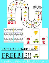 free race car board game free homeschool deals