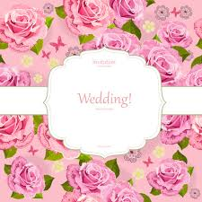 wedding backdrop vector flower pink background vector free vector in encapsulated