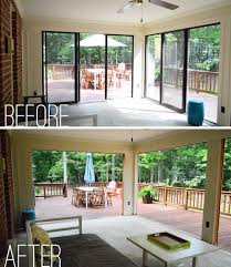 How Much To Add A Sunroom Open U0027er Up Converting A Sunroom Into A Veranda Young House Love