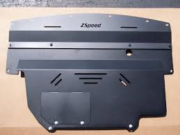 nissan 350z engine cover 350z g35 g37 370z aluminum engine undershroud underpanel skidplate