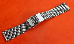 breitling steel bracelet images Breitling bracelet ssteel 22mm mesh milan highly polished jpg