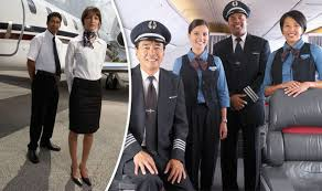 airline cabin crew flight secrets revealed the reason cabin crew stand like this