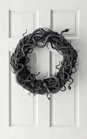 diy spooky martha stewart snake wreath and a winner flax twine