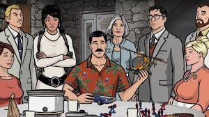 archer cartoon archer cast detail the big changes coming to the show in its
