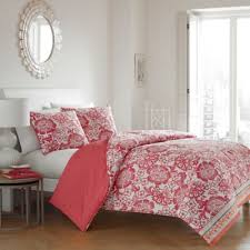 buy coral duvet cover set from bed bath u0026 beyond