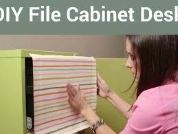 Diy File Cabinet Diy File Cabinet Desk Video Diy