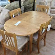 dining room wooden expandable dining table set for dining room