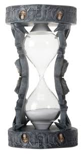 Amazon Mantle Clock Amazon Com Gothic Skeleton And Skulls Soul Reaper Sand Timer