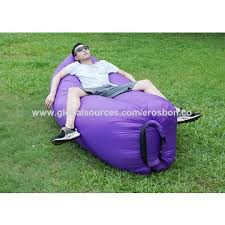 china inflatable lounger couch portable blow up lounge chair pool