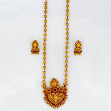long gold beads necklace images Peshwai designer golden beads necklace sonchafa jpg