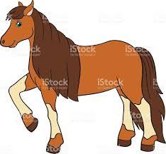 cartoon farm animals cute horse stock vector art 543201690 istock
