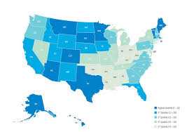 happiest states in america healthiest states report ranks well being in u s regions