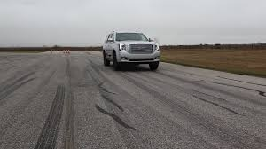 supercharged 2015 gmc yukon denali sounds evil runs 0 60 in 4 5