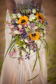 sunflower wedding bouquet 21 sunflower wedding bouquet ideas for summer wedding