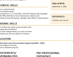 1 page resume exles one page resume exles fresh e page resume sle doc reference