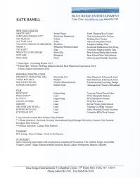 Actor Resume Font Resume U2014 Kate Hamill Actor Playwright